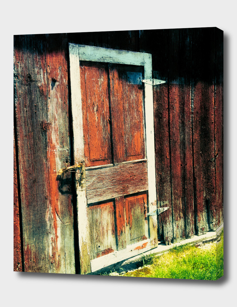 Red Barn Door, St. Agatha, Ontario