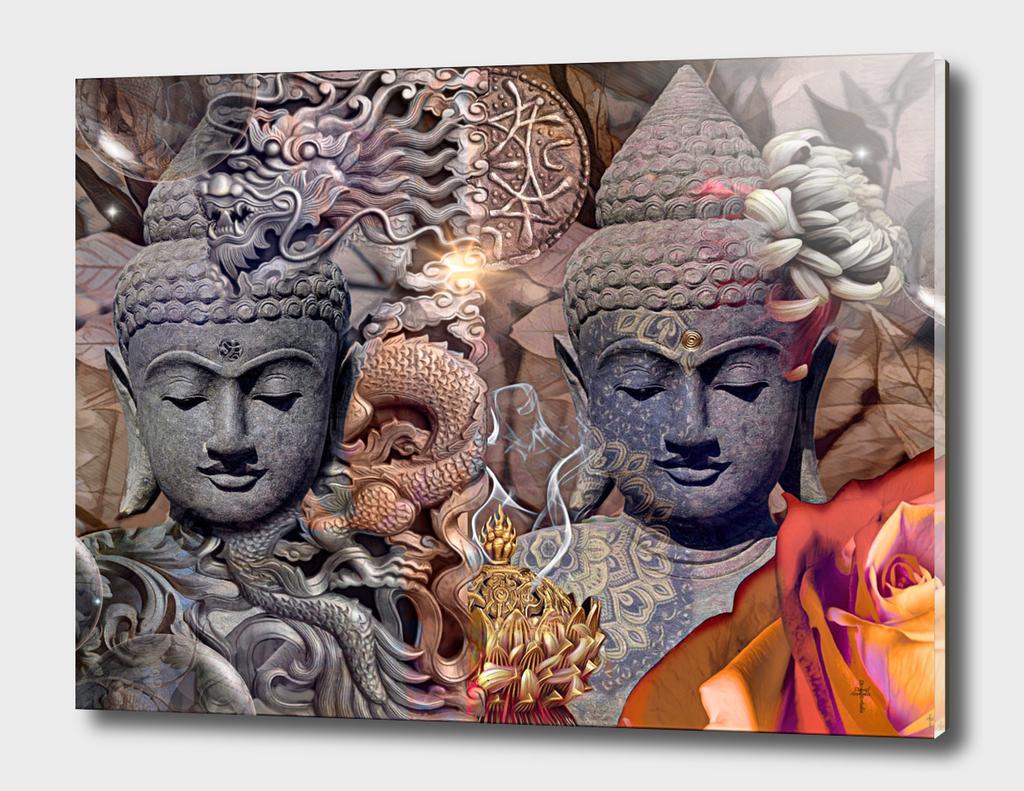 The Dragon Buddhas - Copper Version