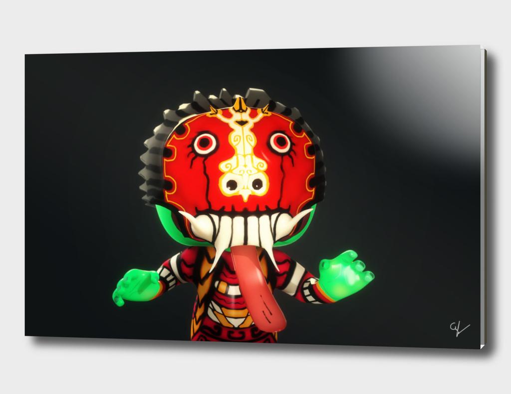Leak Mask Zombie