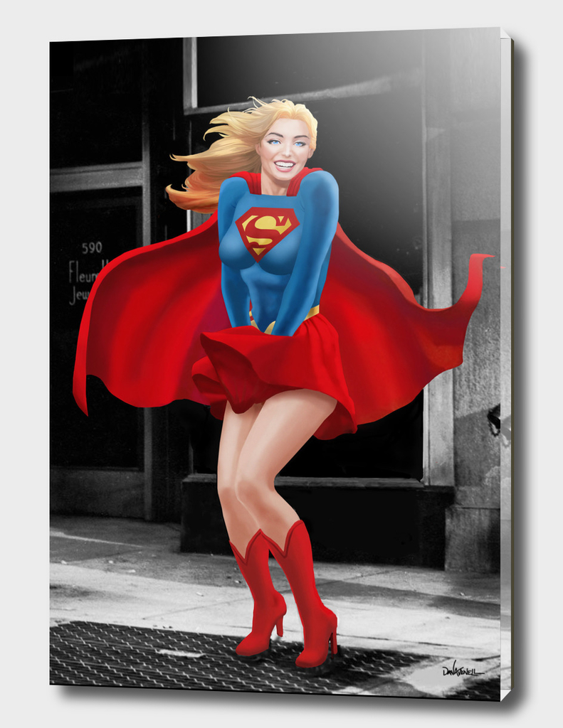 Supergirl a a Marilyn