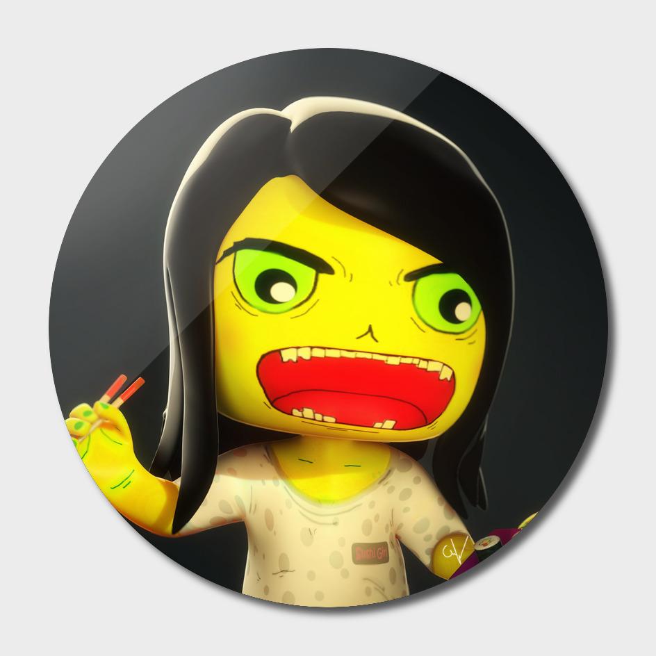Sushi Girl Zombie