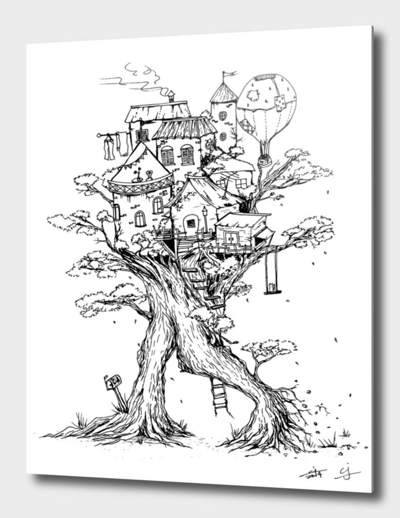 Walking Treehouse
