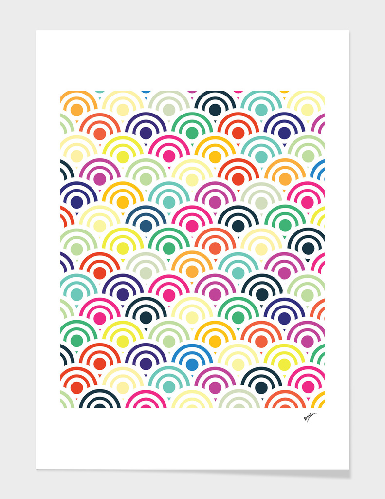 Colorful Circles II