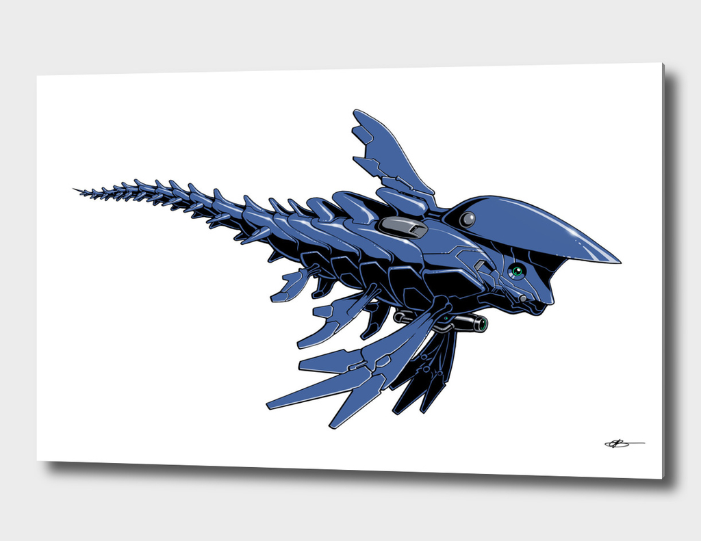 Microfish Cobalt Blue edition