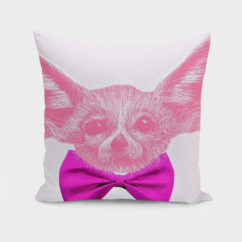 Pink Fennec Fox