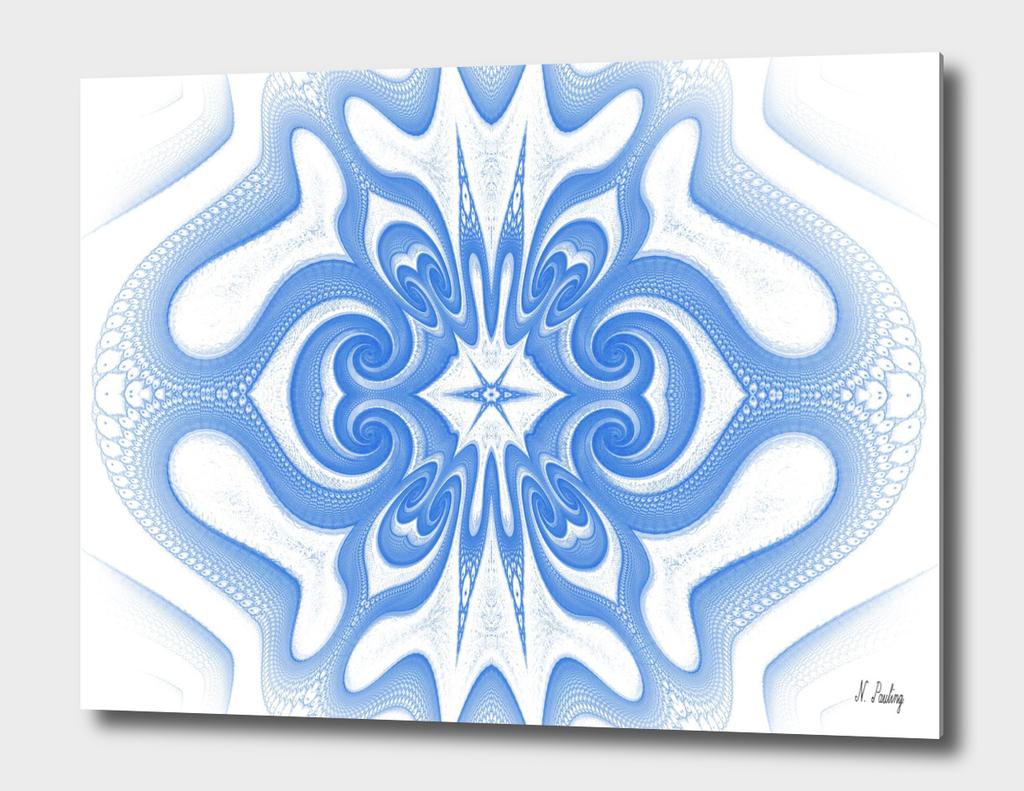 Fractal Blue