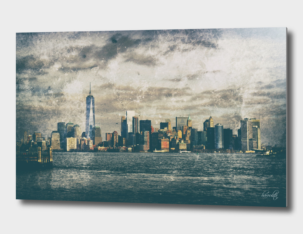 new york skyline i