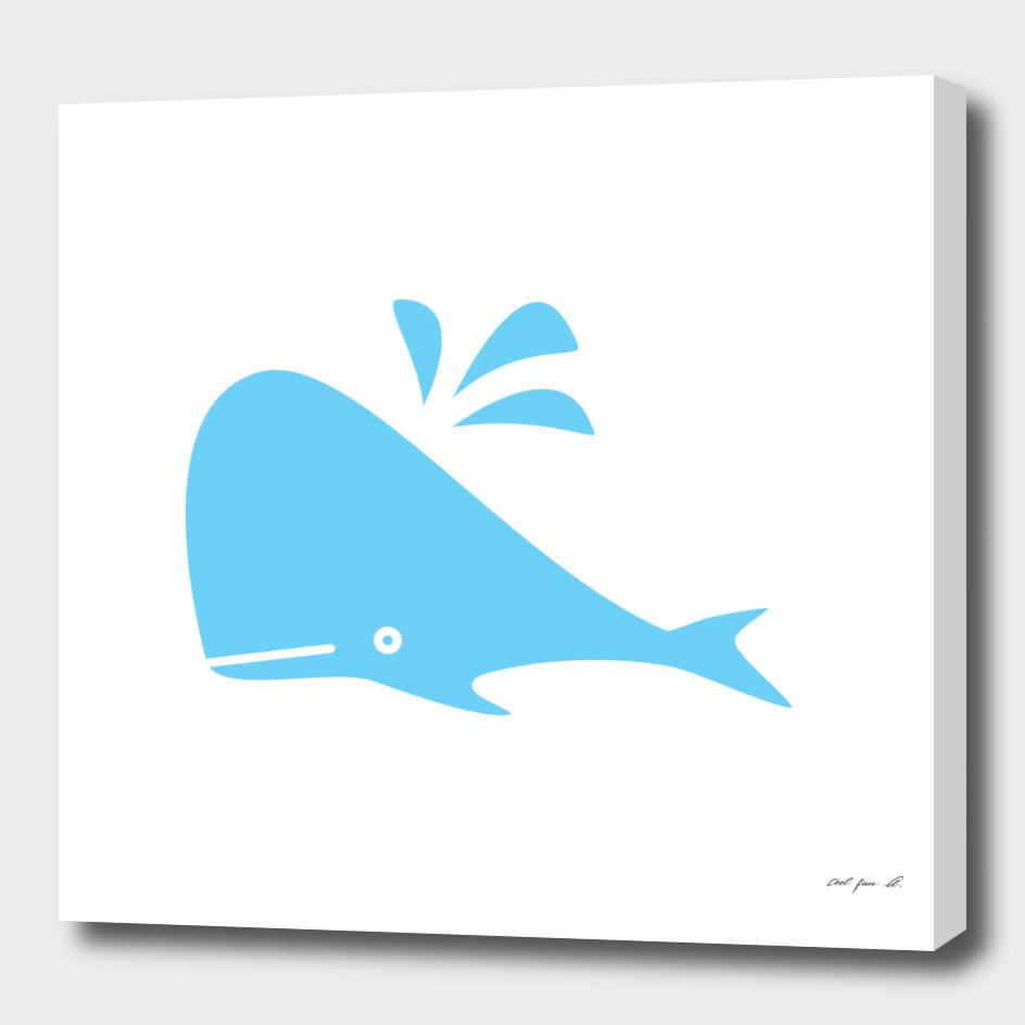 Cute Blue Whale