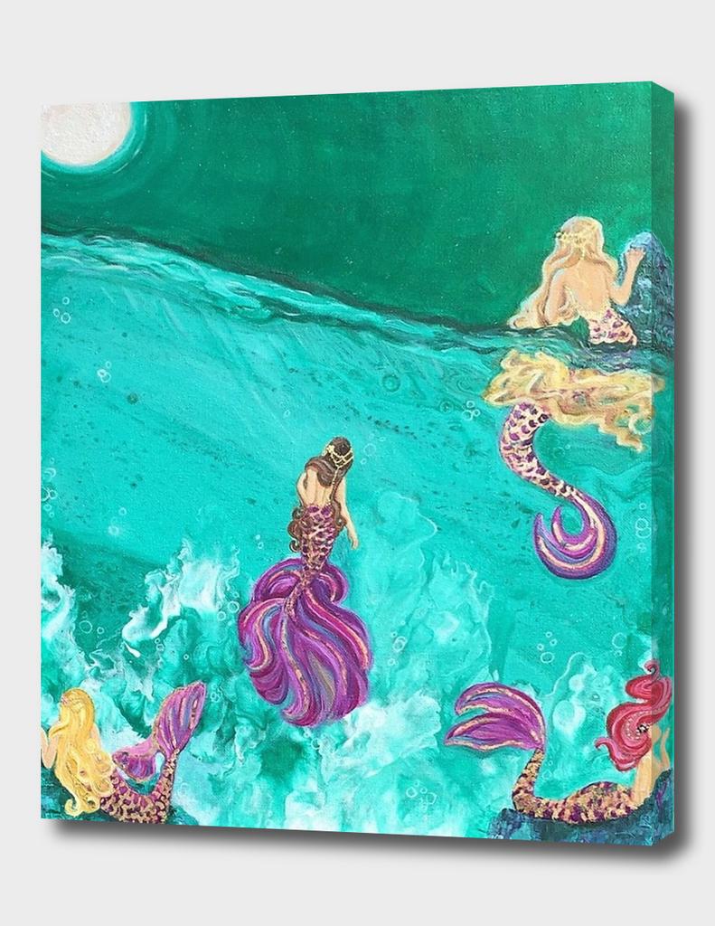 Sirena Vida Mermaid Art