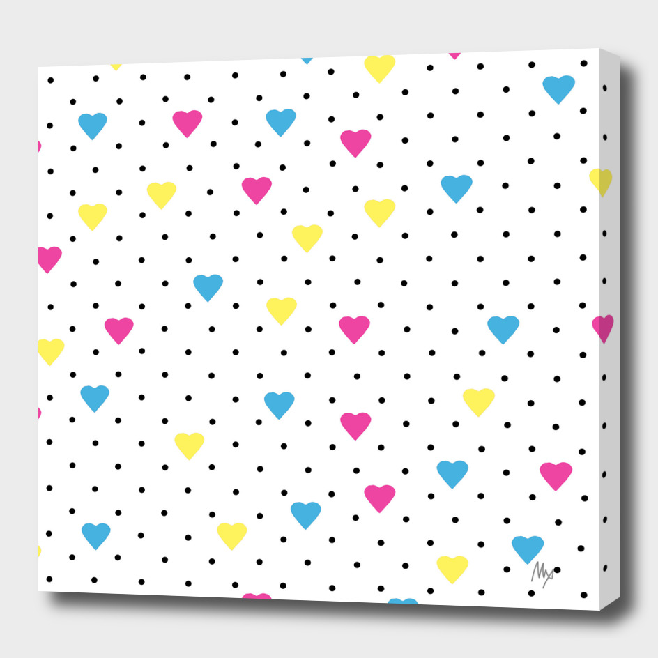 Pin Point Hearts CMYK