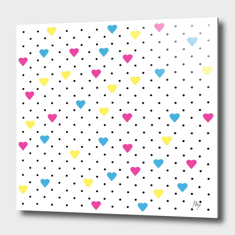 Pin Point Hearts CMYK