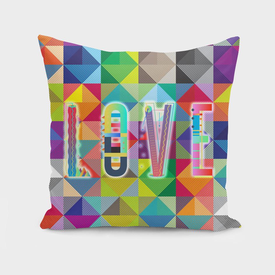 L O V E - Multicolor