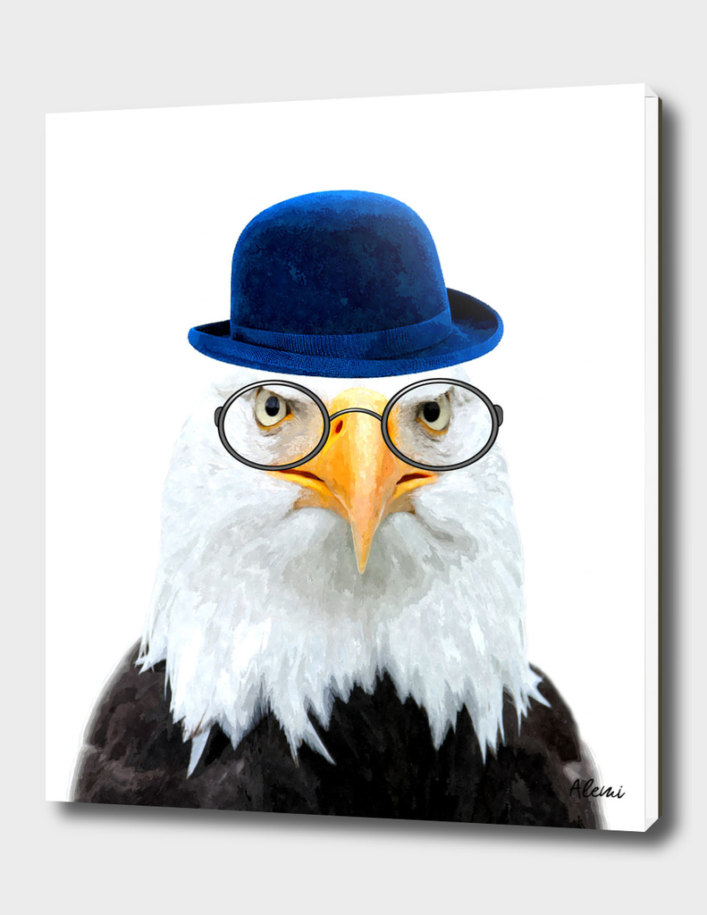 Funny Eagle Portrait