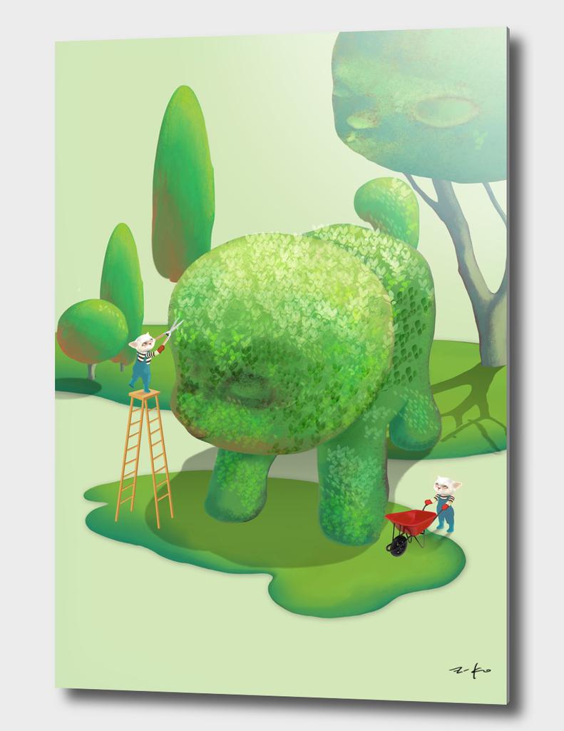 Art Size_Topiary Garden