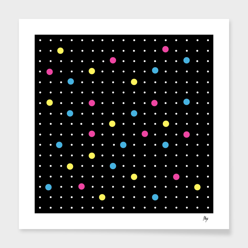 Pin Points CMYK