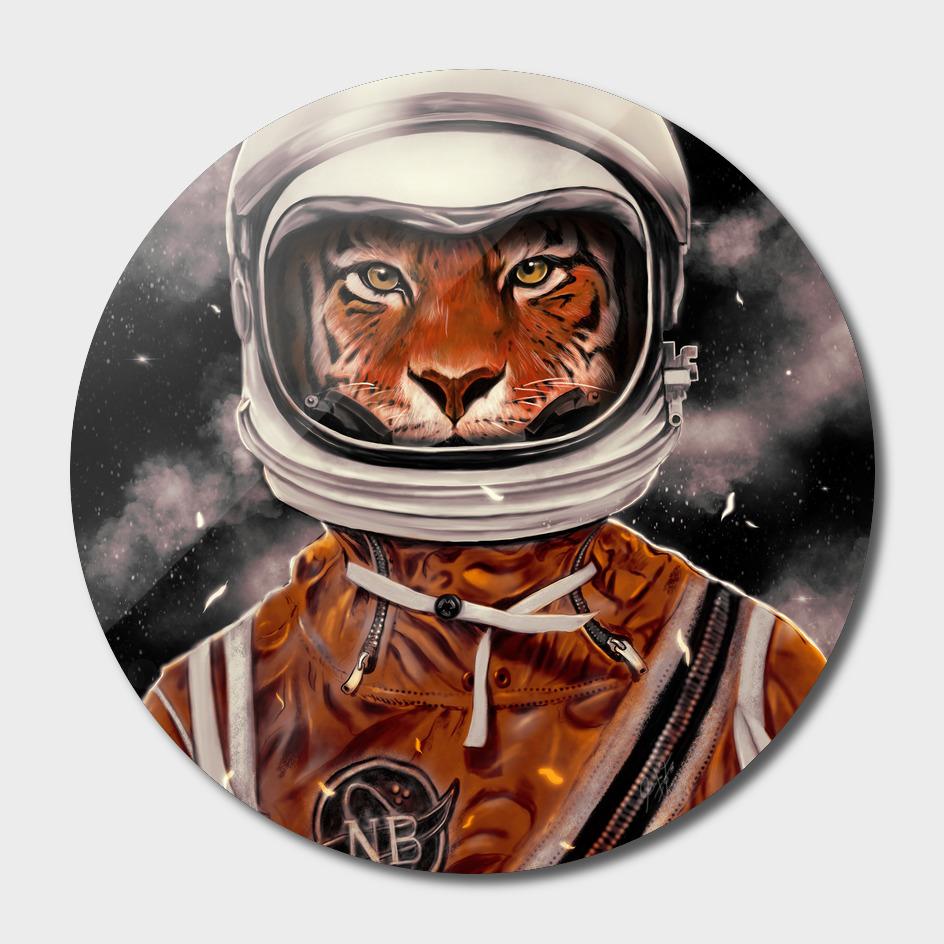 Tiger Astronaut