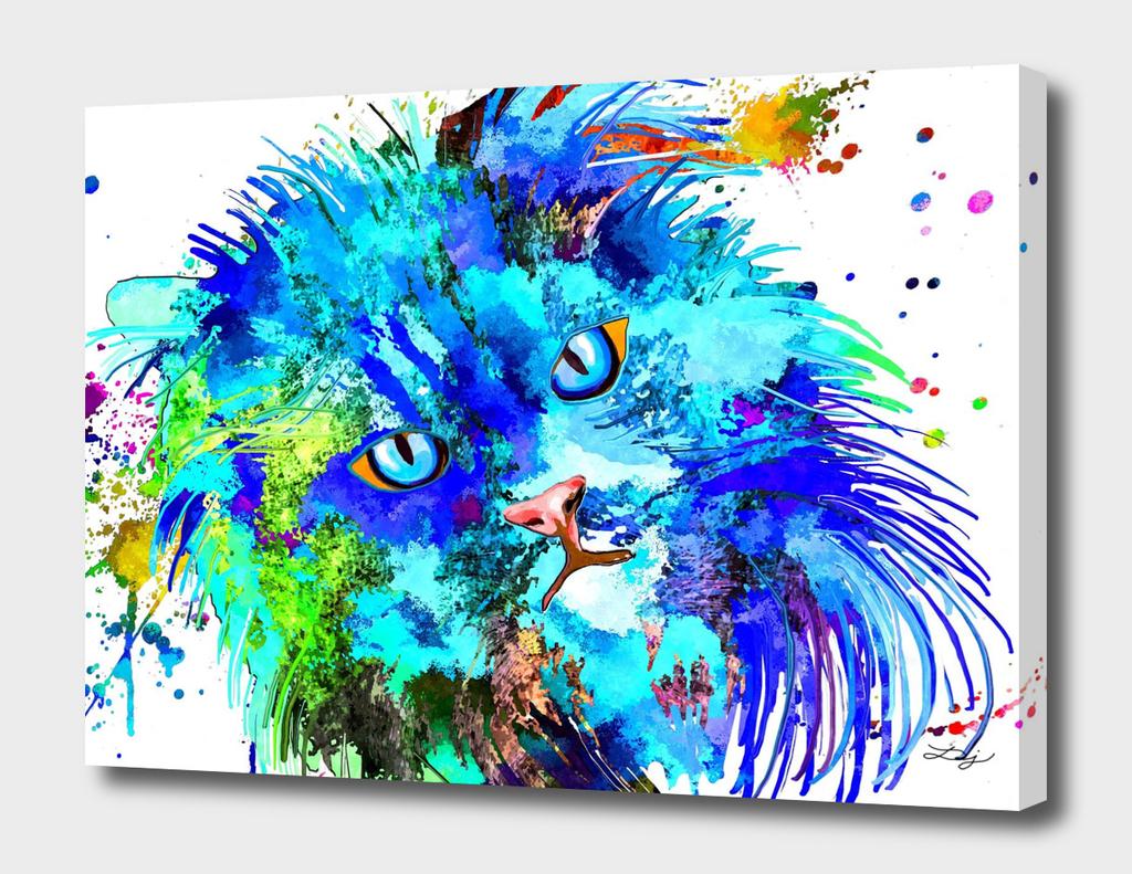 Persian Cat Colored