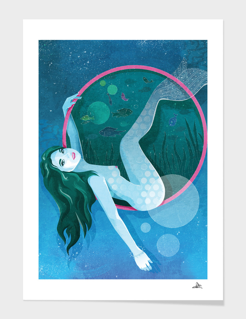 The Magic of Underwater Life - Mermaid