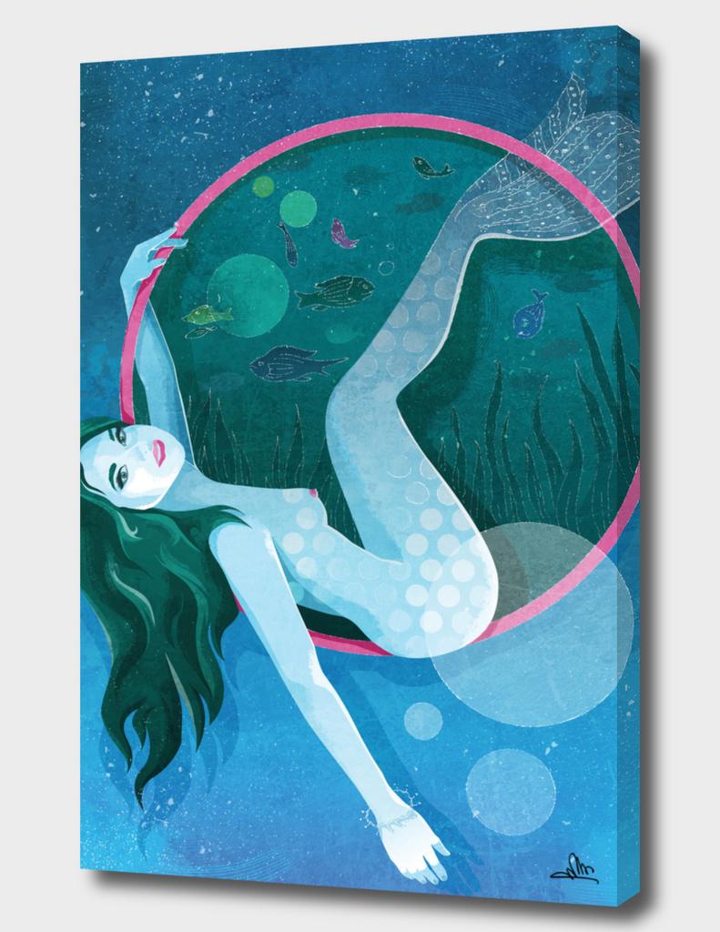 The Magic of Underwater Life - Mermaid