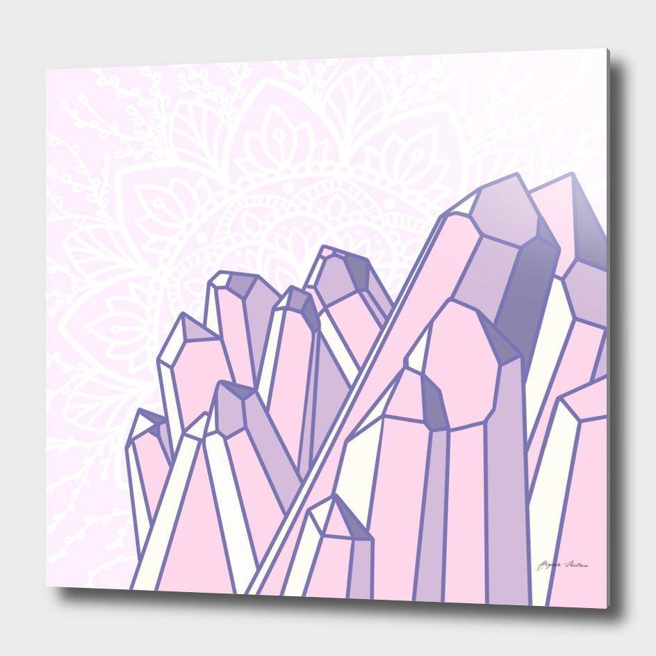 Crystals with Mandala