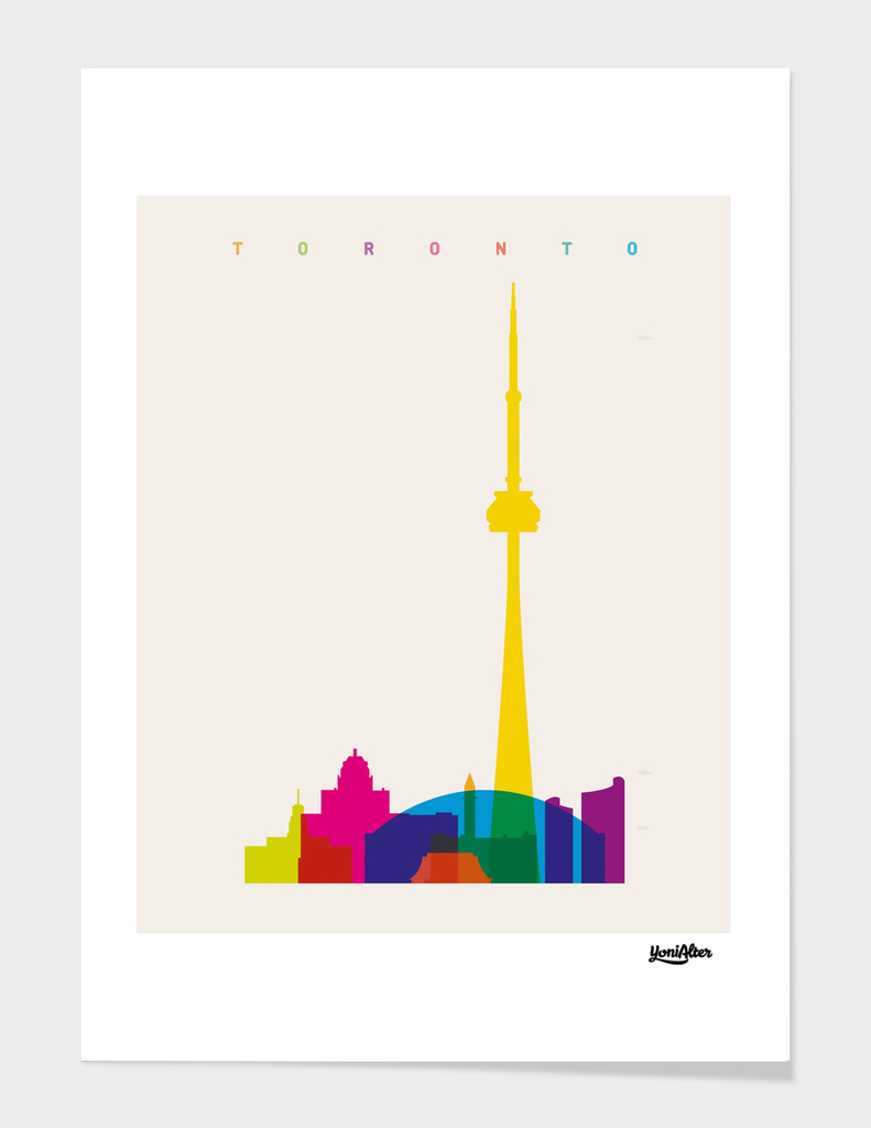 Shapes of Toronto