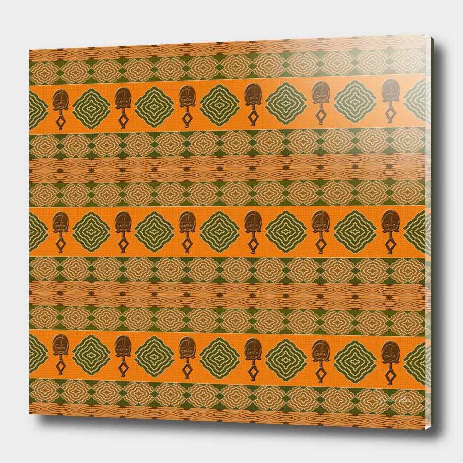 Ethnic africana tribal pattern.