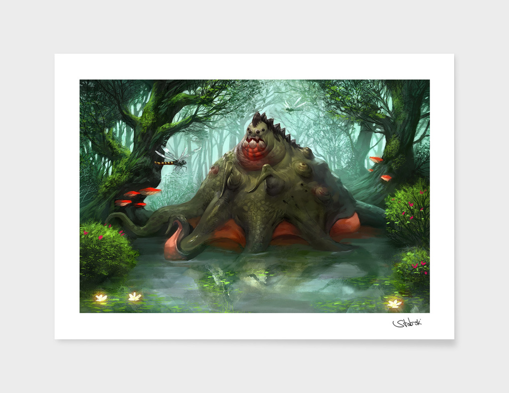Swamp-creature