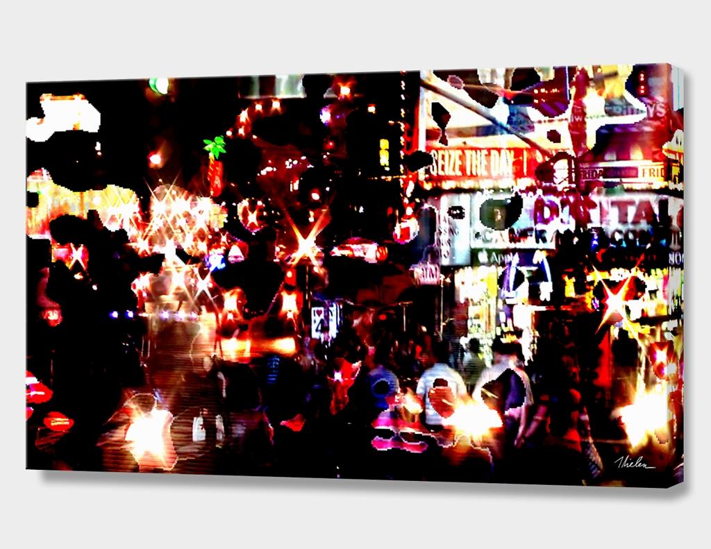 Time Square, New York Night