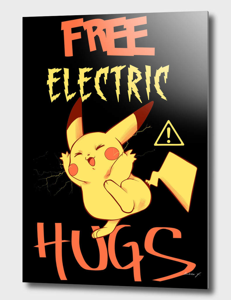 Free electric hugs black