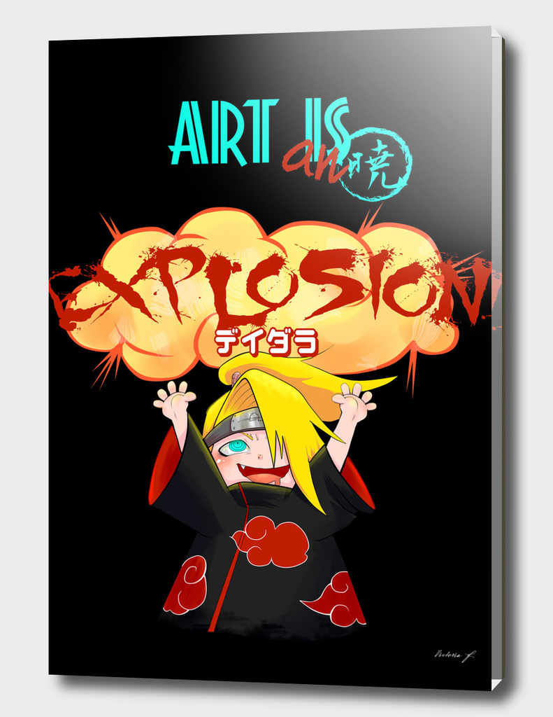 Art is an EXPLOSION black