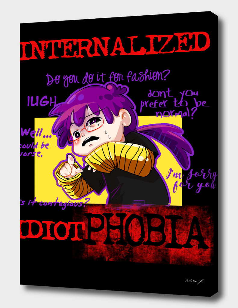 Idiotphobia black