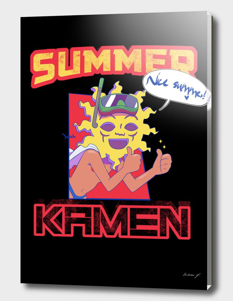Summer Kamen black