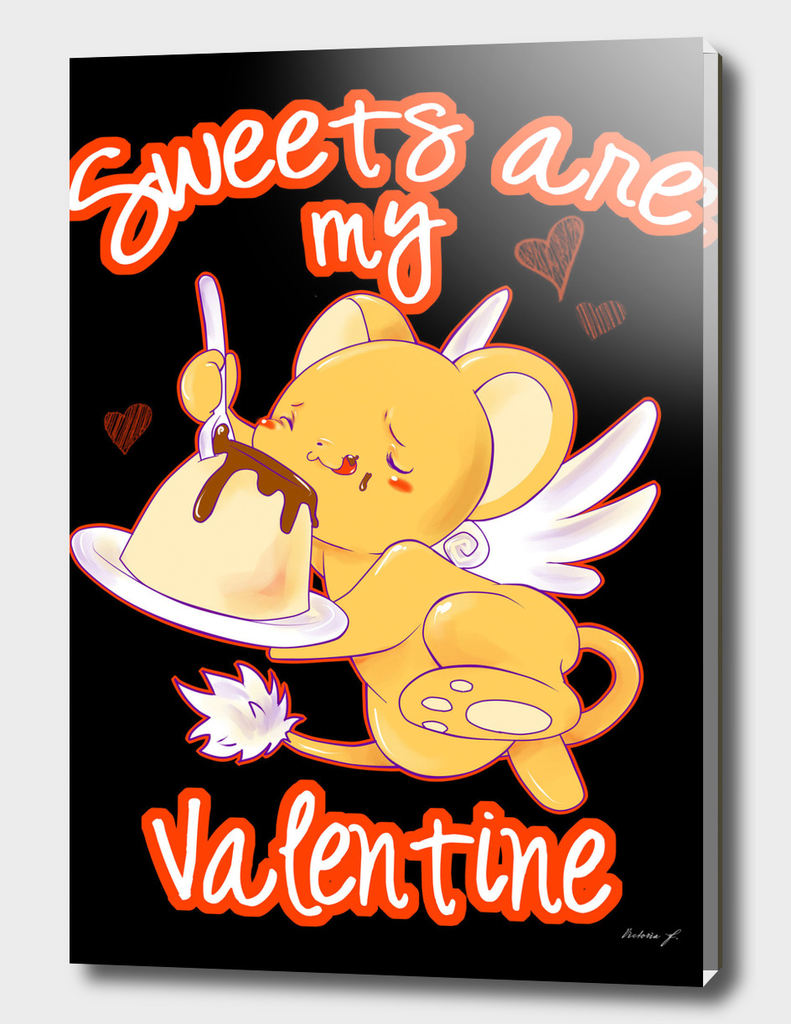 Sweets are my Valentine black