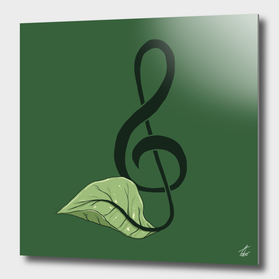 Nature Song Green
