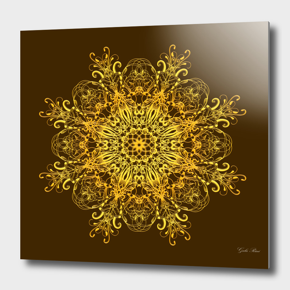 golden mandala
