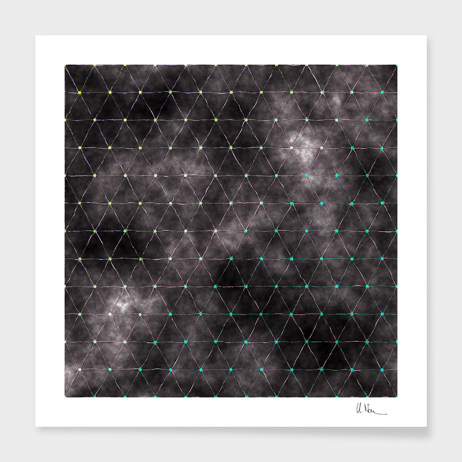 Galaxy - triangles pattern