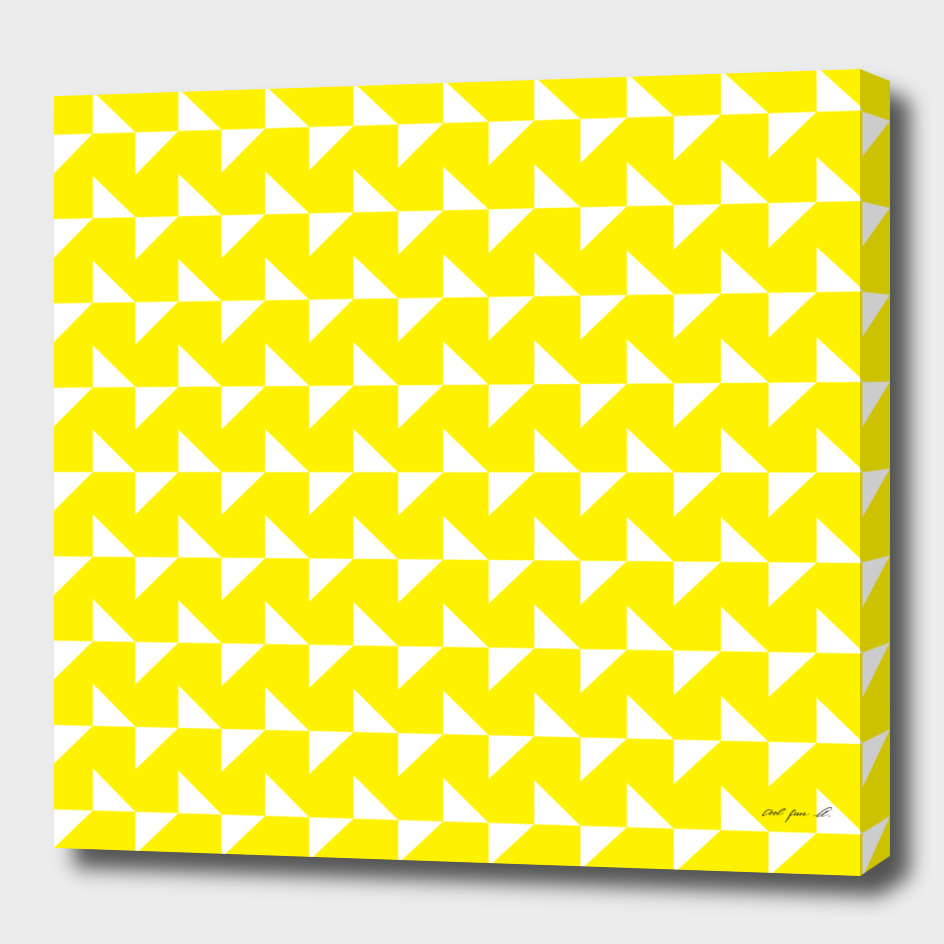 Flying Triangles Yellow