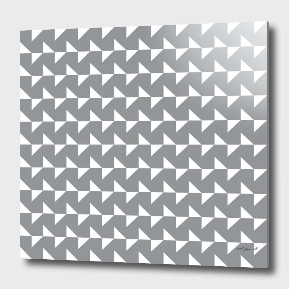 Flying Triangles Grey