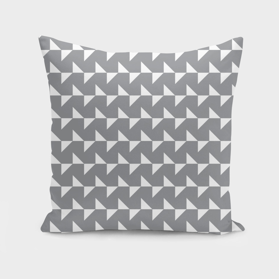 Flying Triangles Grey