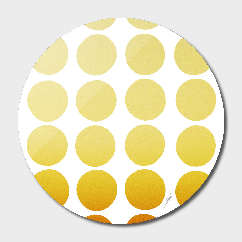Warm dots pattern