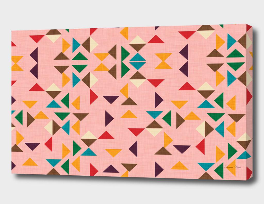 Kilim triangle pattern