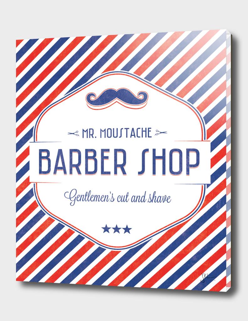 Mr. Moustache Barber Shop