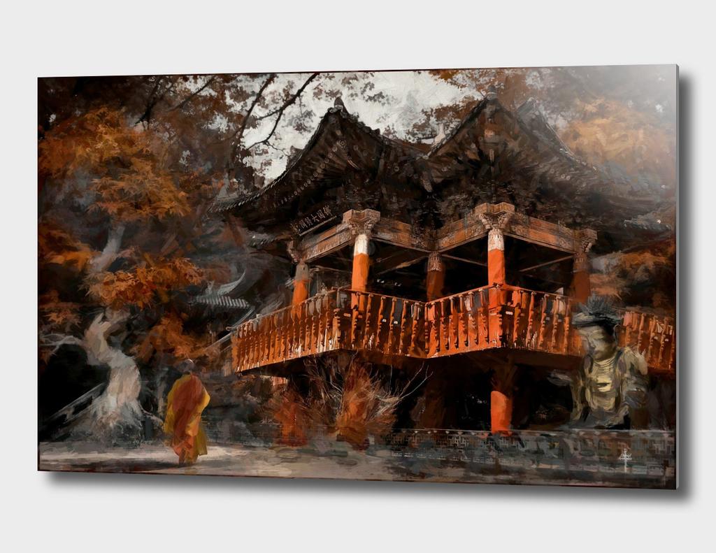 The Autumn Temple - Paint Version