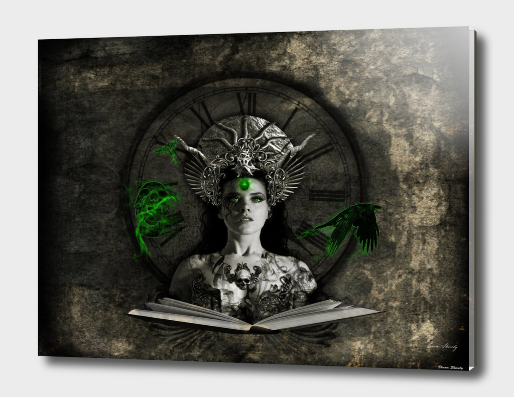 Witches Magic Book