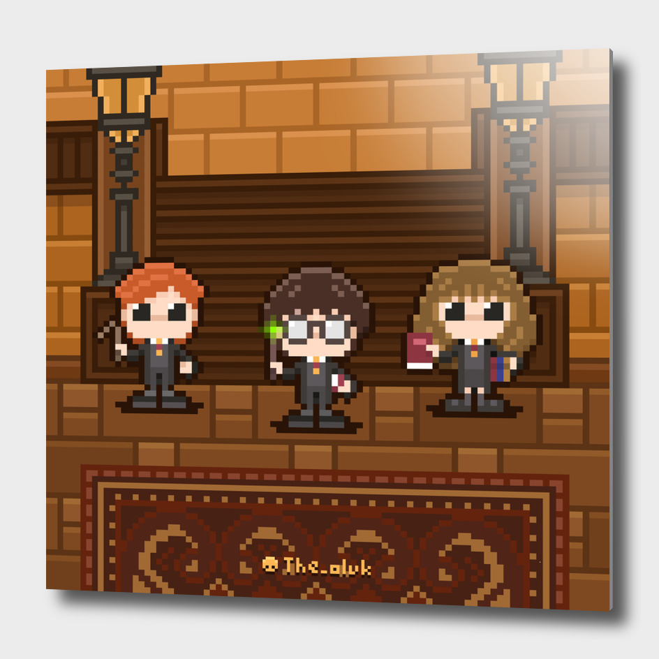 16-bit Harry Potter