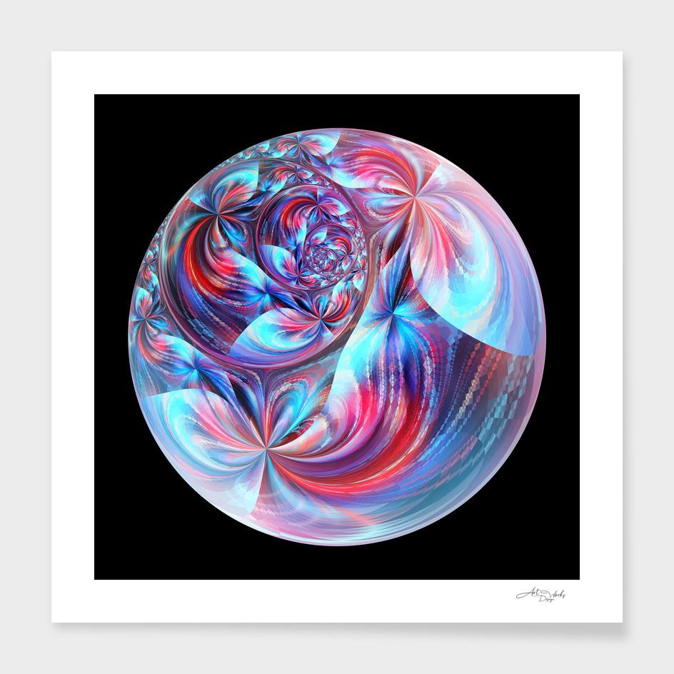 Fractal circle I / EE