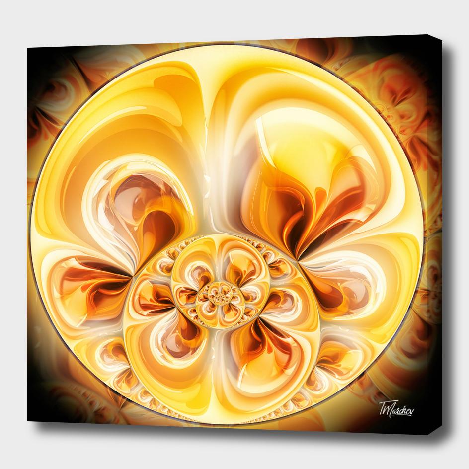 Fractal circle II / EE