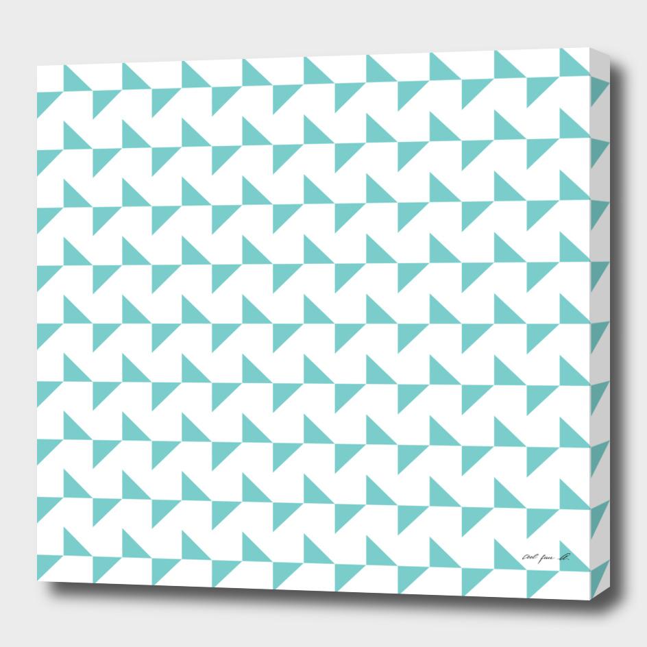 Flying Triangles Aqua