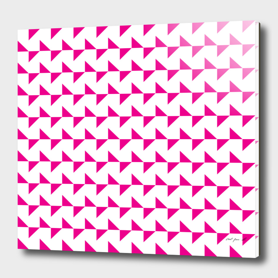 Flying Triangles Pink