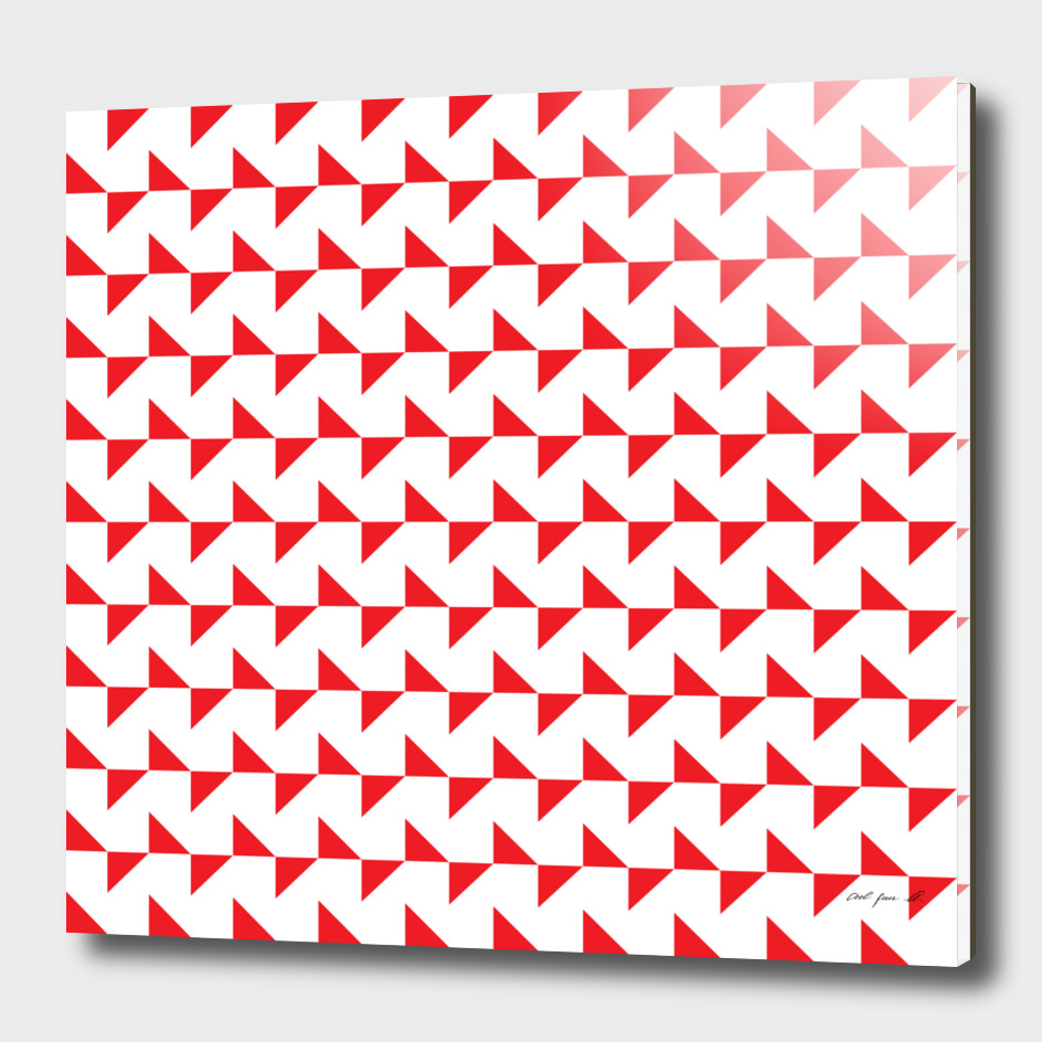 Flying Triangles Red